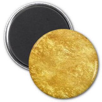 ouro ímã redondo 5.08cm