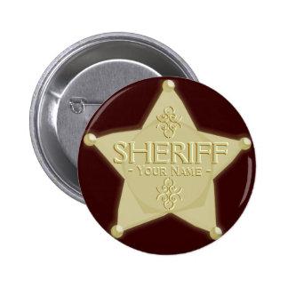 Ouro ocidental do botão do partido do vaqueiro do  boton