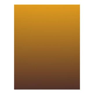Ouro picante Brown Ombre Panfletos Coloridos