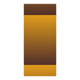 Ouro picante Brown Ombre 10.16 X 22.86cm Panfleto