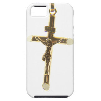 Ouro transversal do Jesus Cristo horizontal Capa Para iPhone 5