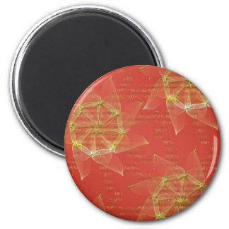Ouro vermelho de n ímã redondo 5.08cm