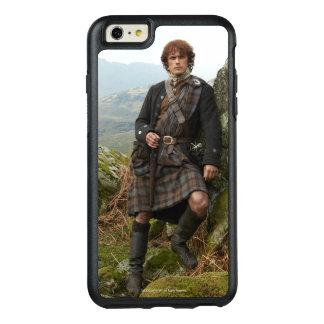 Outlander | Jamie Fraser - inclinando-se na rocha