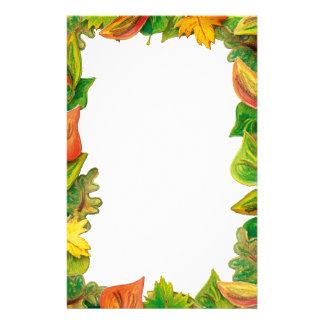 Outono - artigos de papelaria
