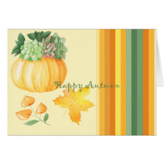 Outono Cartão Comemorativo