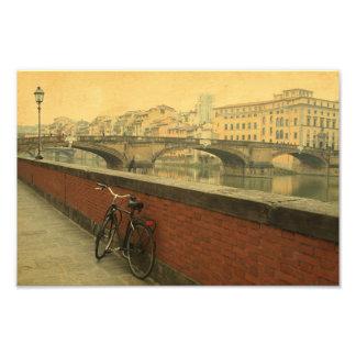 Outono em Florença, vintage Impressão De Foto