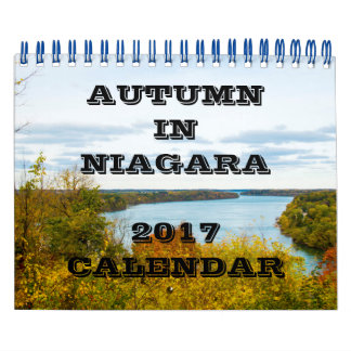 Outono no calendário de Niagara