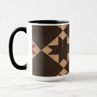 Outras de canecas de café das edredões das avós