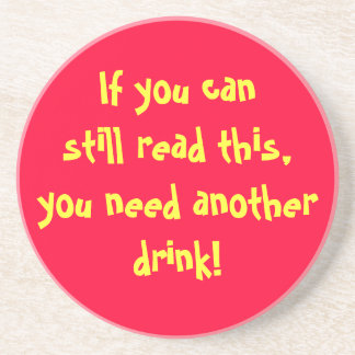 Outros bebem porta copos de arenito