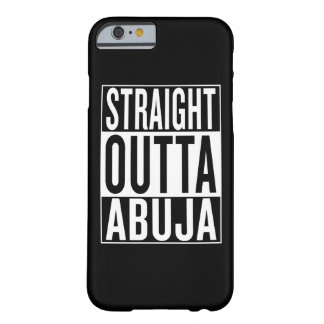 outta reto Abuja Capa Barely There Para iPhone 6