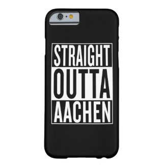 outta reto Aix-la-Chapelle Capa Barely There Para iPhone 6