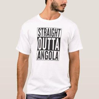 outta reto Angola Camiseta