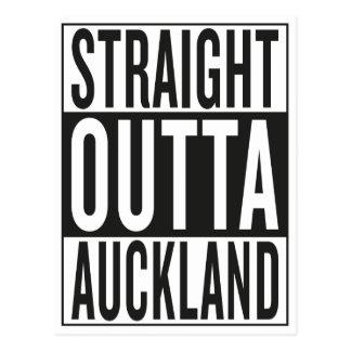 outta reto Auckland Cartão Postal