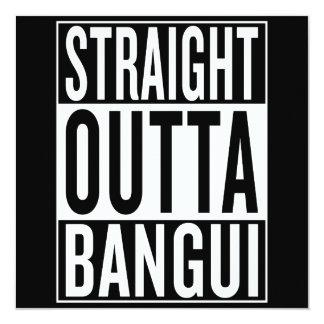 outta reto Bangui Convite Quadrado 13.35 X 13.35cm
