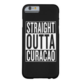 outta reto Curaçau Capa Barely There Para iPhone 6