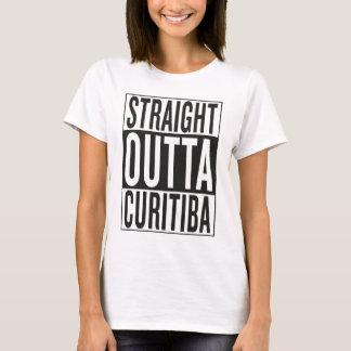 outta reto Curitiba Camiseta