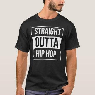 Outta reto Hip Hop Camiseta