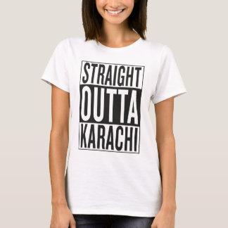 outta reto Karachi Camiseta