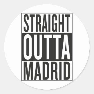 outta reto Madrid Adesivo