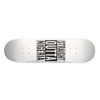 outta reto Nigéria Shape De Skate 21,6cm
