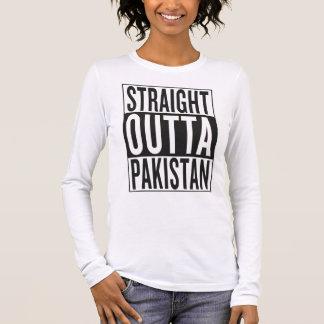 outta reto Paquistão Camiseta Manga Longa