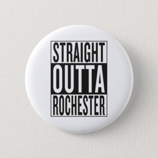 outta reto Rochester Bóton Redondo 5.08cm