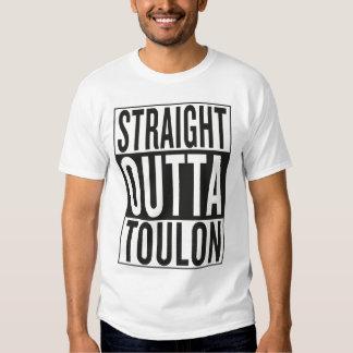 outta reto Toulon Camiseta