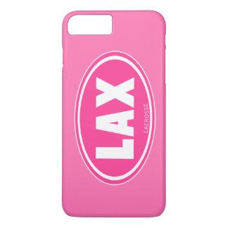 Oval - caso cor-de-rosa do iPhone 7 do lacrosse Capa iPhone 7 Plus