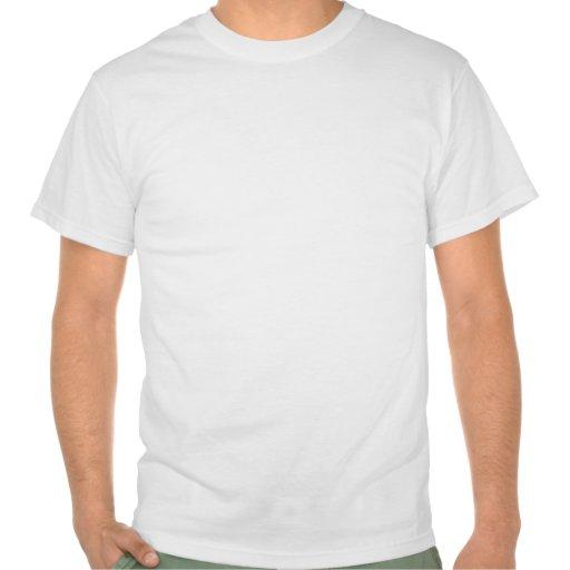 Oval de esqueleto de Dixie Camisetas