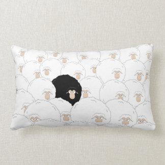 Ovelhas negras almofada lombar