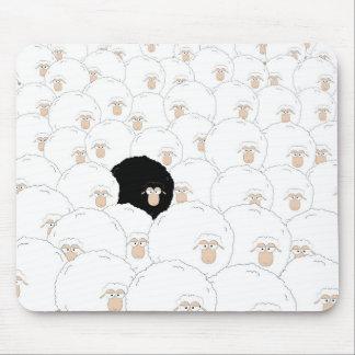 Ovelhas negras mouse pad