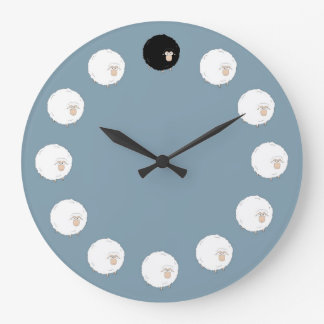 Ovelhas negras relógio grande