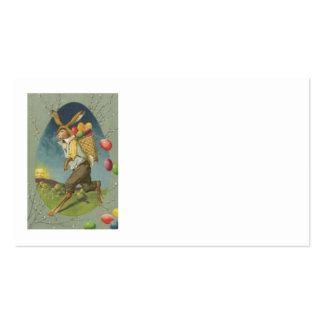 Ovo colorido coelhinho da Páscoa Sun Cartão De Visita