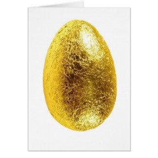 ovo da páscoa cartão comemorativo