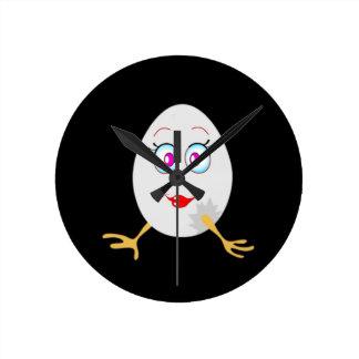 ovo da páscoa engraçado relógios para paredes