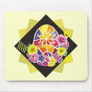 ovo da páscoa pintado ucraniano (20) mouse pads