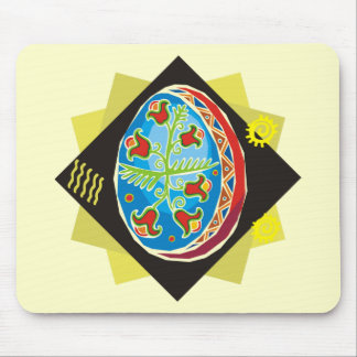 ovo da páscoa pintado ucraniano (21) mousepads
