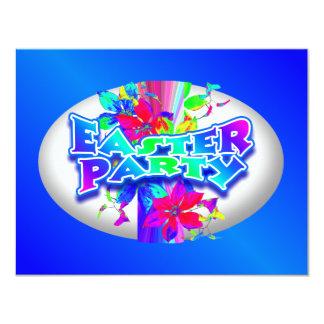 Ovo da páscoa que decora o convite de festas