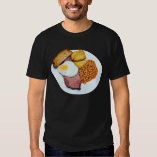 Ovo e feijões do Gammon T-shirt