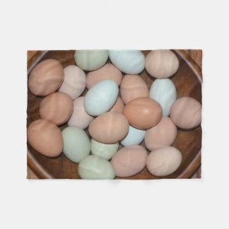Ovos da galinha cobertor de velo
