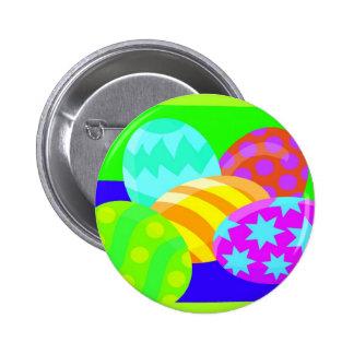 Ovos da páscoa - botão botons