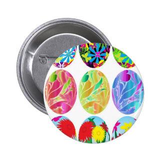 Ovos da páscoa botons