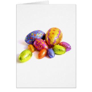 Ovos da páscoa cartões