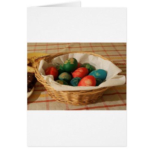 Ovos da páscoa cartoes