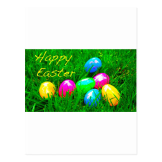 Ovos da páscoa cartões postais