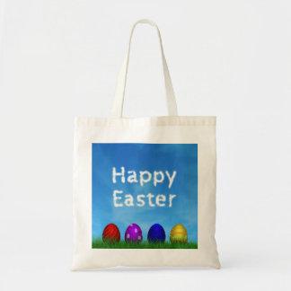 Ovos da páscoa coloridos - o bolsa do orçamento