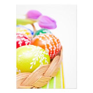 Ovos da páscoa convites personalizados