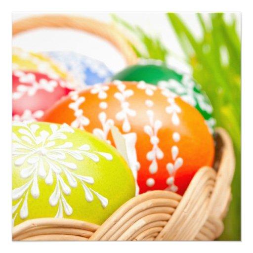 Ovos da páscoa convite personalizado