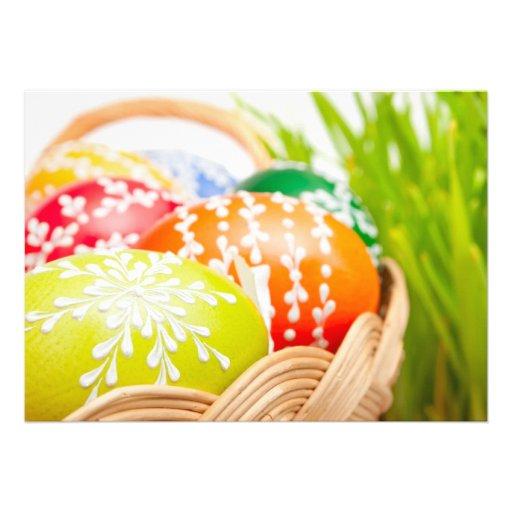 Ovos da páscoa convites personalizado