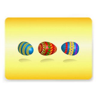 Ovos da páscoa convites